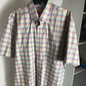 MEN'S Alan Flusser 100% Cotton Shirt L